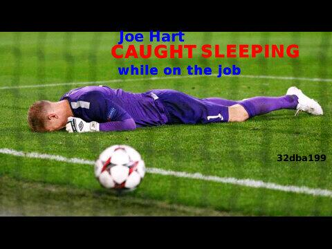 BVotGydCEAEB9tc Joe Hart puns & jokes abound after two mistakes in Man Citys 3 1 defeat to Bayern Munich