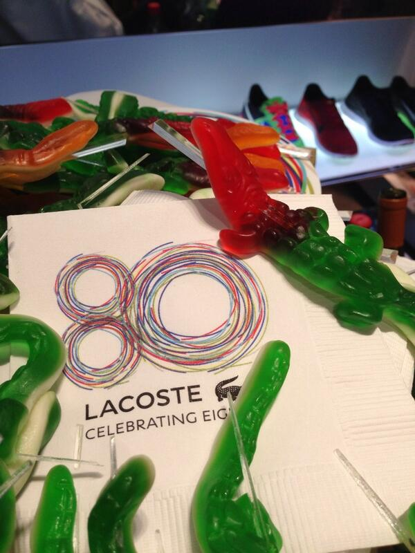 #gators at @lacoste #lacoste80th http://t.co/Ksnti285CL