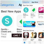 Congrats @wunderlotte - Best New Apps on the #App Store! @spottly #spottly #hellsyeah #featured http://t.co/9gsUH8FeFy""