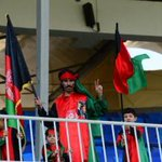 Afghan fans enjoy the #AfgvKen #cwc15 qualifier #cricket http://t.co/jV1eb9RdAf