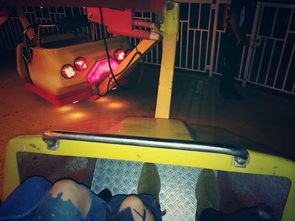 RT @Harry_Styles: I went on a ride.. @louteasdale screamed. http://t.co/8ZgHOUz6YY