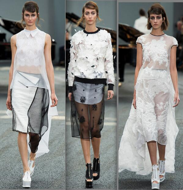 RT @meiklie: sheer heaven at Erdem @ErdemRTW #SS14 @glamour_fashion http://t.co/9XC8xan1ZF