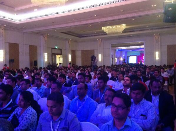 Love this photo from Tech Sparks 2013 Grand Finale #techsparks2013 @techsparks2013 [pic] --