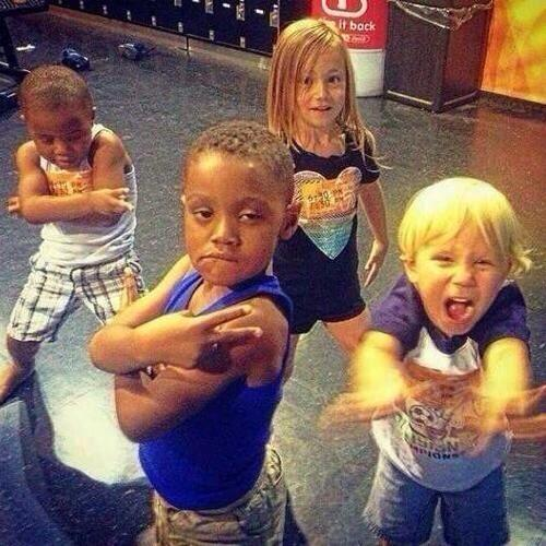 """Jazzy and Jaxon have their own Lil Twist and Lil Za"" OHMYGOD"