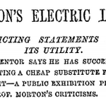 RT @levie: Don't listen to the critics. NYT in 1879: http://t.co/t5hcrHDomX