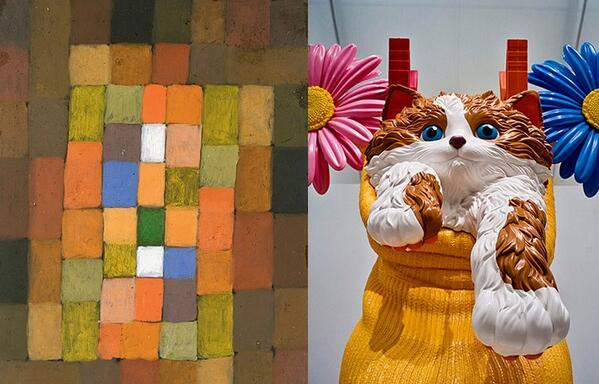 some art is more useful than other art - klee or koons? http://t.co/ApOJhuBjF7