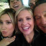 Last day on set of #crazyones. Gonna miss these guys @RealSMG @jameswolk @robinwilliams #hamish #amanda http://t.co/HoUziD2dIt