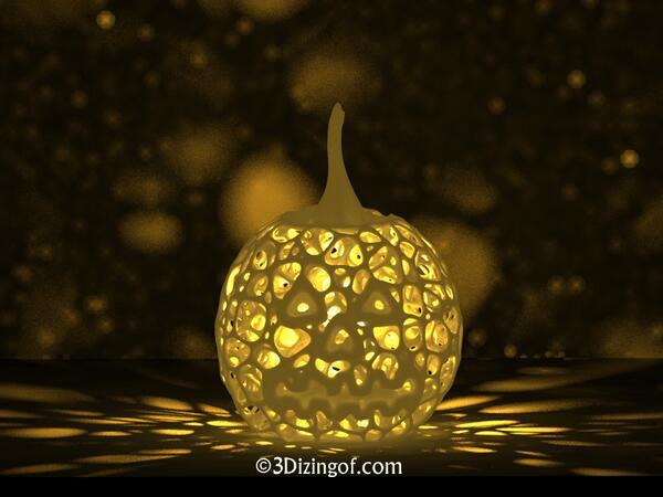 Happy #Halloween RT @dizingof #3DPrint Coolest Pumpkin Lantern by @Dizingof FREE Download - http://t.co/mtVMIlWoIp | http://t.co/Ch6yNQnWkI