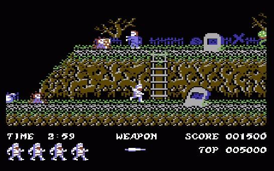 Had a play of Ghost n Goblins by Elite. Such a wonderful platformer. Definitely in my Top 10 all time #c64 games http://t.co/YjD4IcLRAJ