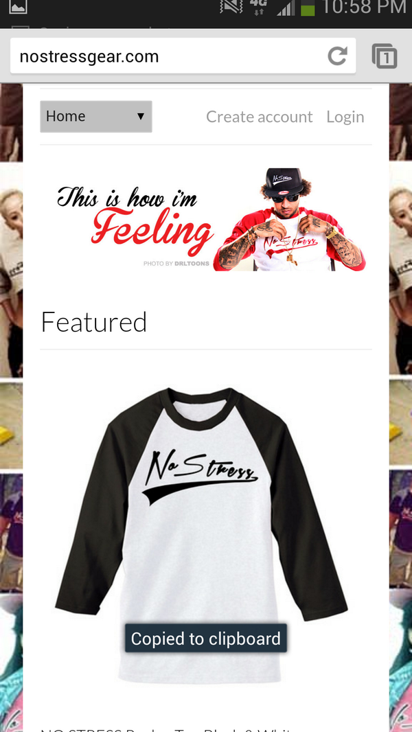 ORDERING MY NO STRESS GEAR TOMORROW CUZ I GOTTA BE FRESH AS HELL IF DA FEDS WATCHING! @DJESUDD336 http://t.co/RJNP499qeu