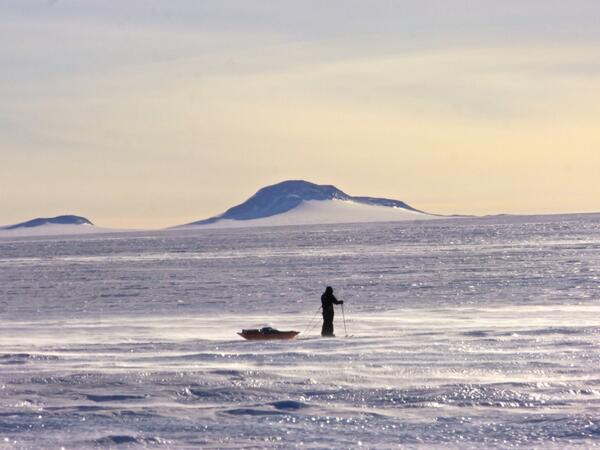 Having a little breather & taking in the delights of the day. Cracking today, lets hope it stays. #coldestjourney http://t.co/l3zyPdK6FM