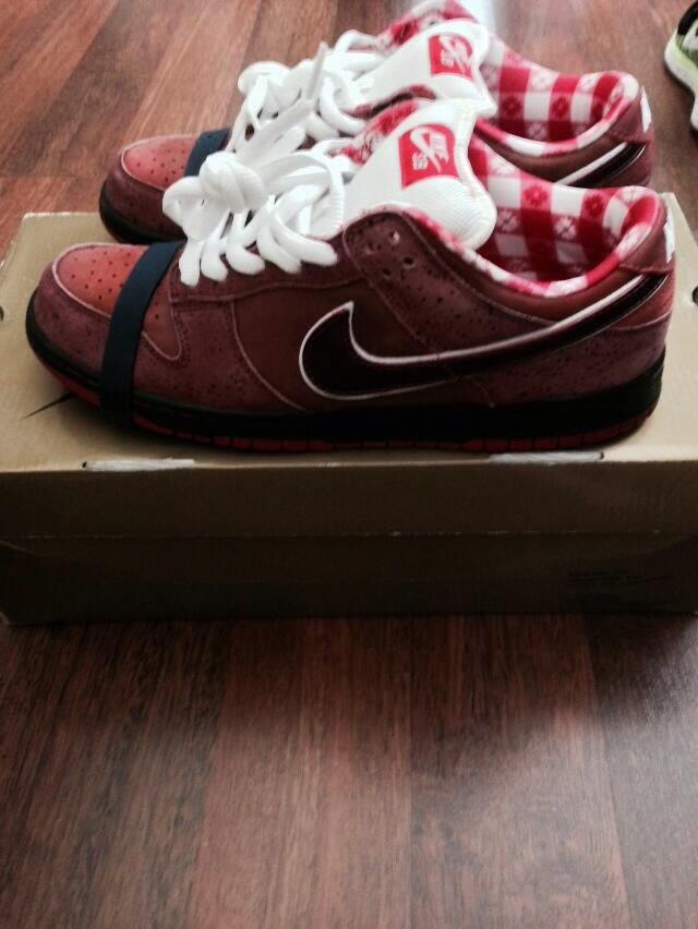 Red lobsters size 9.5 $225 shipped RT plz @BasedLaRock @TheRealTBlake @Juicemanji @quanb24 @YoAnty1 @DreDayCoop http://t.co/W6cnB0YwZu