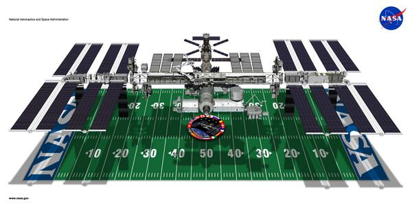 How big is the #ISS? Here's a perspective... #ThingsNASAMightTweet http://t.co/Asjw8aqu5k