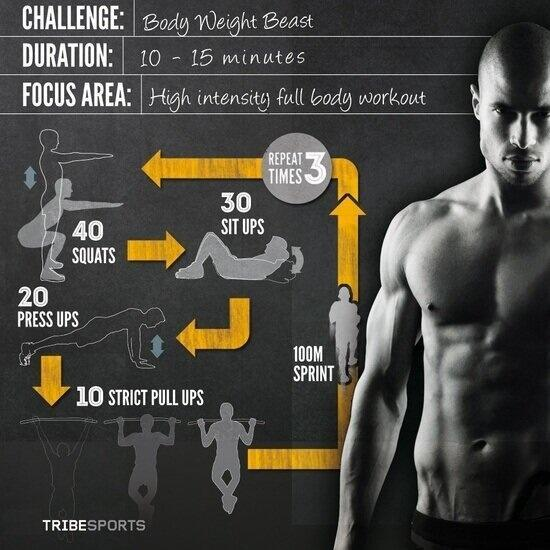 Bodyweight workout http://t.co/GkteNFIf9q