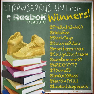 "A very big shout out to ALL of the winners of our ""Back to School"" contest with @ReebokClassics! http://t.co/6oL1S30SG2"
