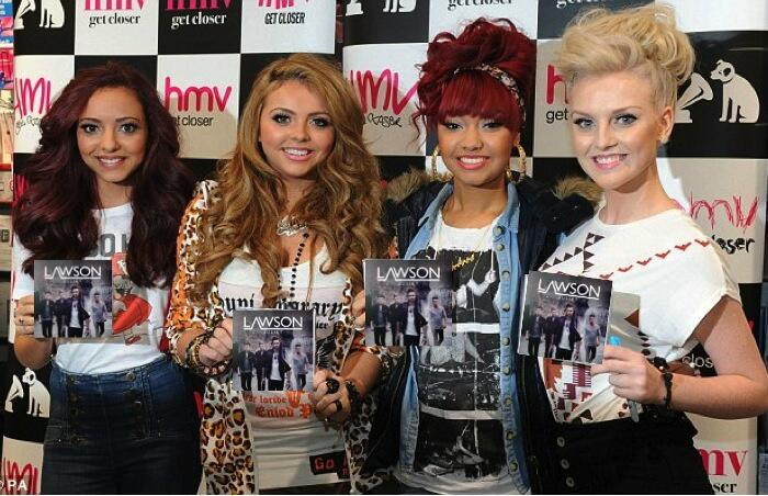 @LittleMixOffic Aw, girls you shouldn't have. #littlemixvslawson http://t.co/Cq5iA2UidM