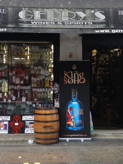 Fancy a quick tipple? We're hosting a tasting at @gerryswinessoho #gin #soho http://t.co/CesgW2mKme