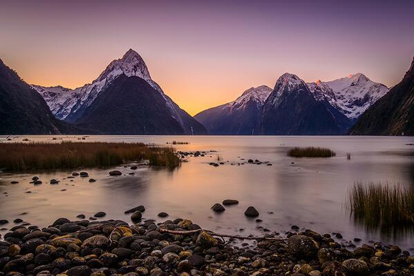 RT @vividlightscape: The beautiful and stunning Mitre Peak, Milford Sound NZ @PureNewZealand http://t.co/QHkWSpRVMR
