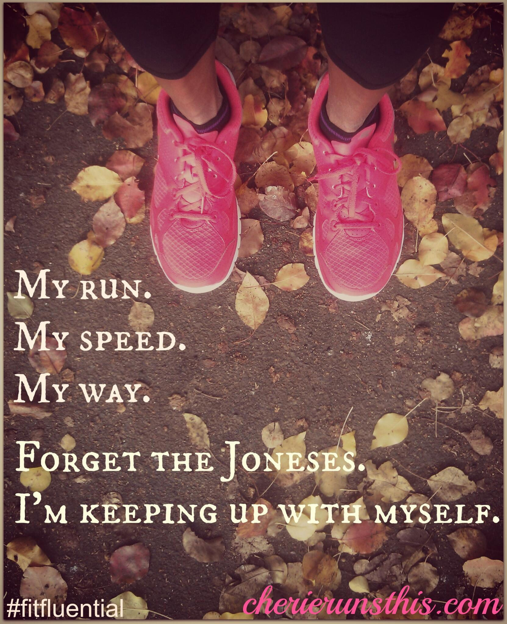 RT @cherielianne: Going to be slow since my month off, but I have to remember my old saying. @WomensRunning #runchat http://t.co/nsR0U6IBvS