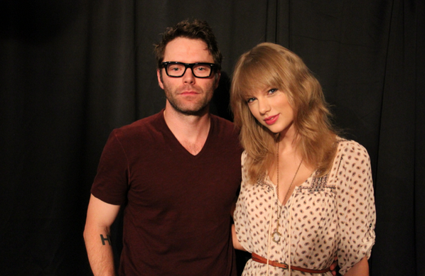 Bobby Bones (@mrBobbyBones): Here we are. Bobby and Taylor. way to keep it real @taylorswift13 http://t.co/pI59Ddd084