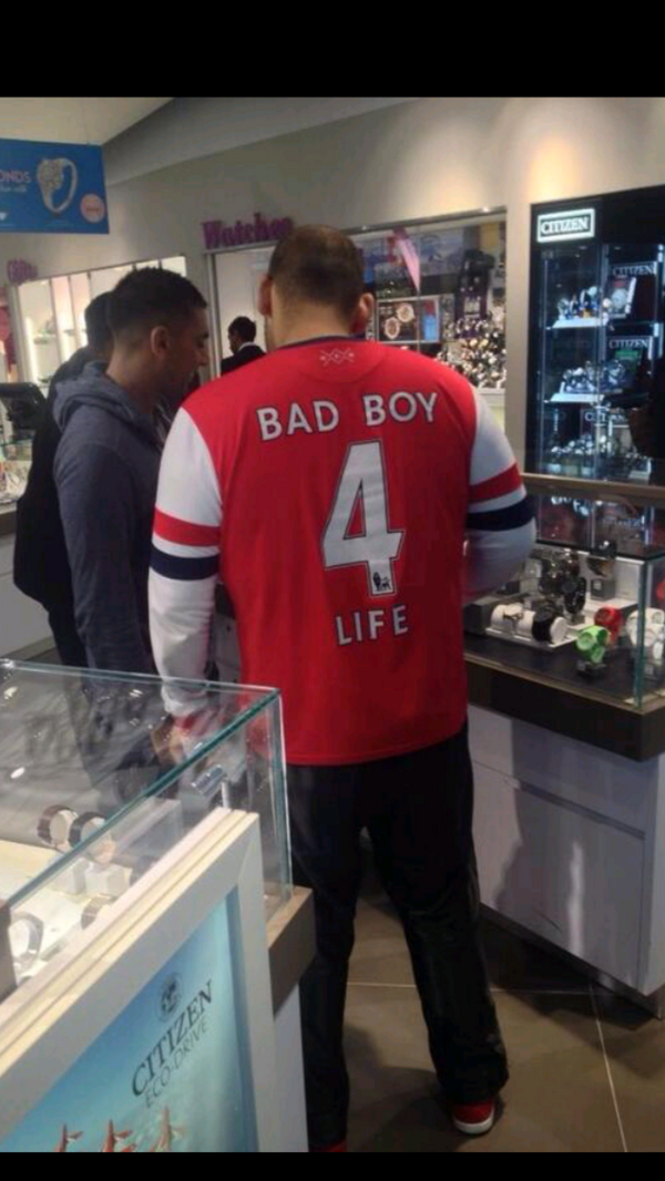Don't mess with this guy... #customisednamewanker (@keggyboy134) http://t.co/4REr7Tygrf