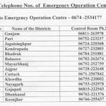 RT @nitishtweets: @ActorMadhavan sir Rqst to RT this. EMERGENCY list of contact nos. for Odisha. #Phailin. http://t.co/XCY4qOlJsU