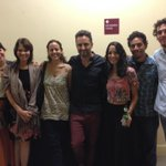 Mi familia junto a @drexlerjorge con la bendición de la jefa, la violetera, mi madre... http://t.co/jRX1aG6wRO