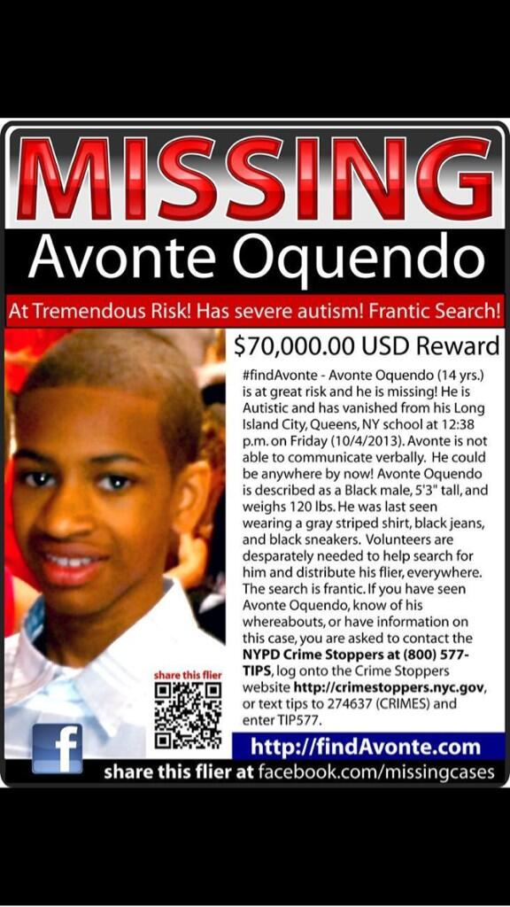 cristina palumbo (@cristinapalumbo): #missing #nyc #FindAvonte http://t.co/F6nTyEEMDC