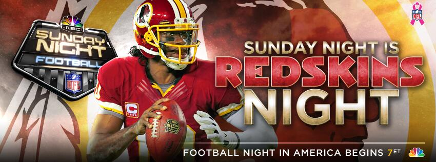Are you a @redskins fan? RT this to show your team pride! #SNF http://t.co/dZZrK8EitR