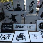 RT @BuzzFeed: Banksy Sold Art Yesterday In Manhattan And No One Knew http://t.co/BYYUENSFQW http://t.co/p3denNviCL