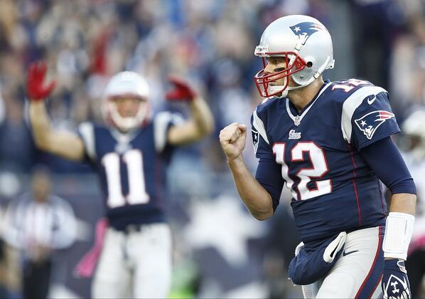 Tom Brady. Wow. (Pic: @USATsportsImage) http://t.co/NucmX7ToEb