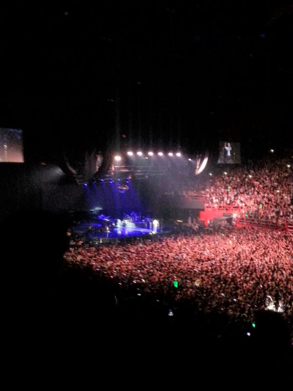 Bercy tonight! http://t.co/QVKT52Wjui