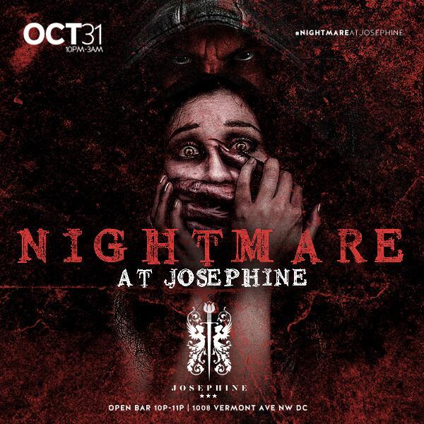 Nightmare At Josephine - 10-31-13 - Best Costume Wins $500 - Tickets https://t.co/2FjD3mFvYr http://t.co/ekKkZIuMSx