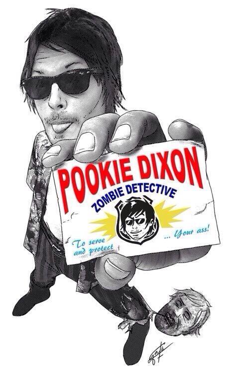 Daryl Dixon. Zombie Detective! #TheWalkingDead http://t.co/Od1v90Xv38