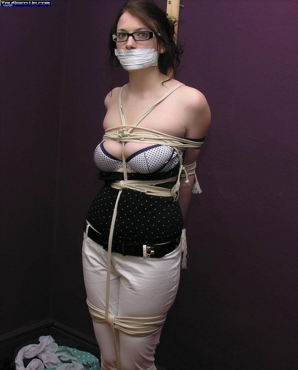 bondage girls wearing glasses naughty sub slut #girl #glasses #bondage #bdsm #slave http:/