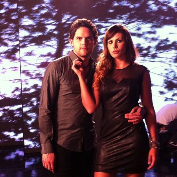 Con la guapisíma @Amandarosars ¡Las escenas quedaron increíbles! http://t.co/0bM7YoOmjV