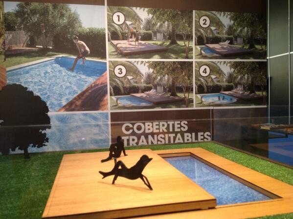 RT @salonpiscina: La cubierta transitable para #piscinas de @Protpool está siendo todo un éxito en el #PiscinaBarcelona. Felicidades! http:…