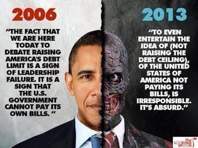 The Devil himself!! @BarackObama #doubletalk #hypocrite #worstever #ImpeachObama #DefundObamacare #MakeDCListen http://t.co/jGgMezFEIB