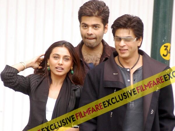 RT @filmfare: Blast from the past: We bring you a candid picture of Rani Mukerji, @karanjohar and @iamsrk together. http://t.co/2kj7e4PTHM