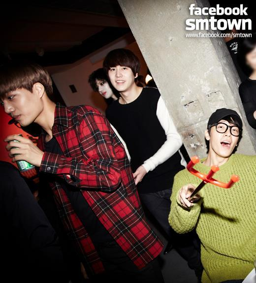 SM Town Halloween Party: #Donghae & Kyuhyun http://t.co/cRQTqoHm7j
