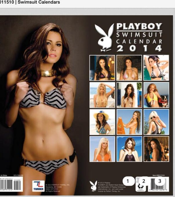 RT @wilkejen: Honored to be on cover of @playboy calendar featuring the lovely  @IrynaIvanova @AmandaCerny @TheMissKristen