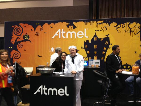 Love this photo from ARM® TechCon™ 2013 #ARMTechCon @ARMTechCon [pic] --