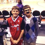 RT @LAClippers: Real life Chris Paul and @CliffPaul at the game tonight! @StateFarmNation #AssistLikeCliff
