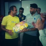 RT @sweetsonu2950: @virendersehwag and @harbhajan_singh at viru's bday paRTy....RT
