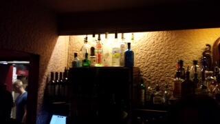 #Spotted: our bottle of #Gin in @artstheatreclub! #TheKingofSoho #Soho http://t.co/E6on8aJJdC