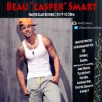 Make sure you take @BEAUcasperSMART class TONIGHT in LA @DanceMillennium studio in North Hollywood.. 9pm BE THERE!!