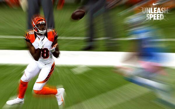 Unleash Speed @ajgreen_18 @usnikefootball #DawgsInTheNFL http://t.co/r8t3wwXg3x