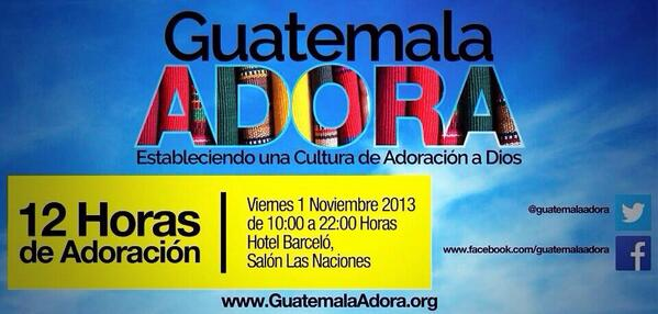 No te puedes perder @guatemalaadora http://t.co/ujbyw0ZvyQ