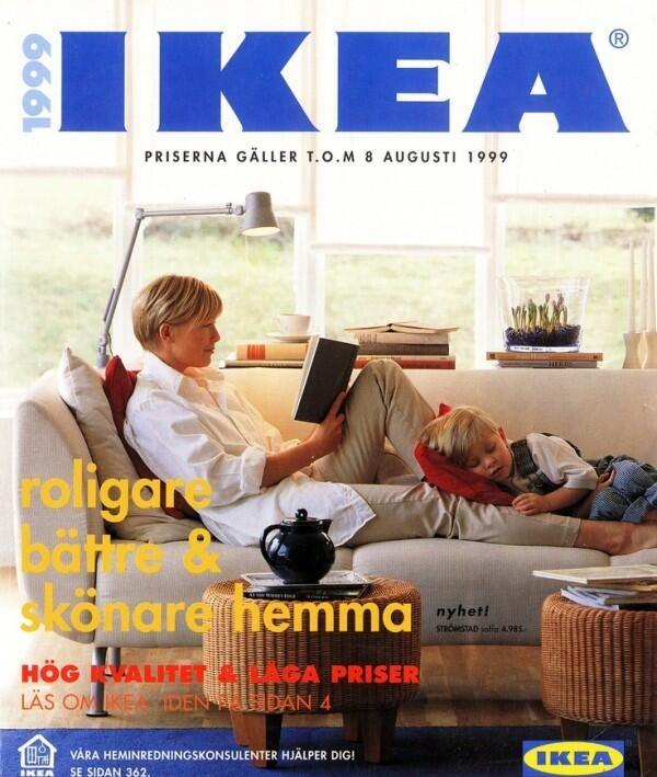 The 1999 #IKEA Catalog served up a peaceful scene with natural tones and lots of light! #tbt #throwback http://t.co/ux0Rx6skHr