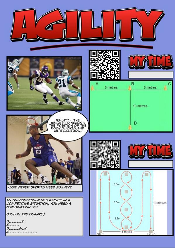 RT @MrThompsonPE: @PEgeeks Agility resource for GCSE students. Engages learners with technology and testing. #pegeeks http://t.co/W3KhuZwXgD